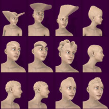Head Morphs For Genesis 3 Female image 3
