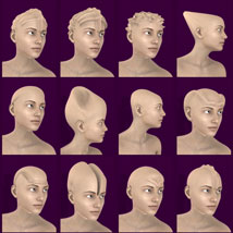 Head Morphs For Genesis 3 Female image 4