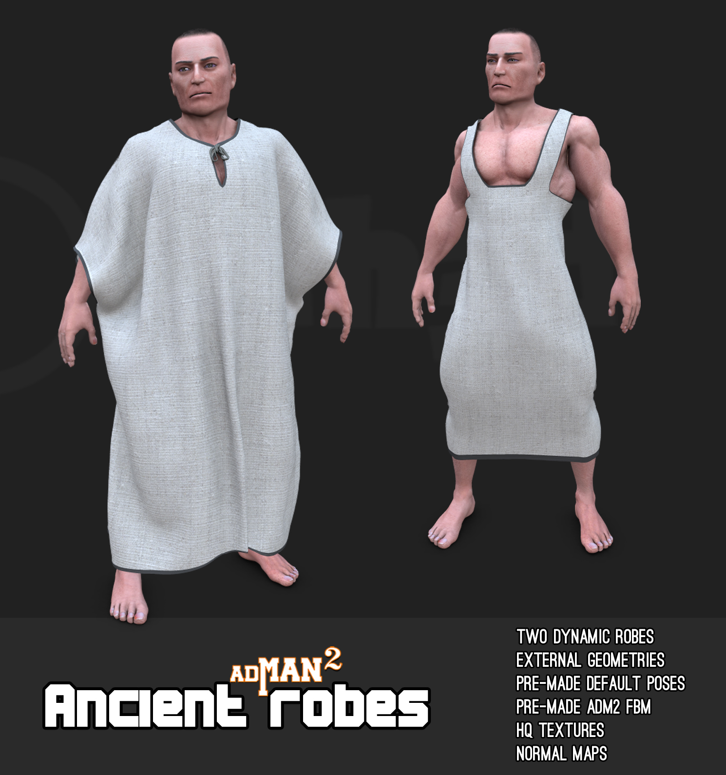 Ancient robes  For AdMan2