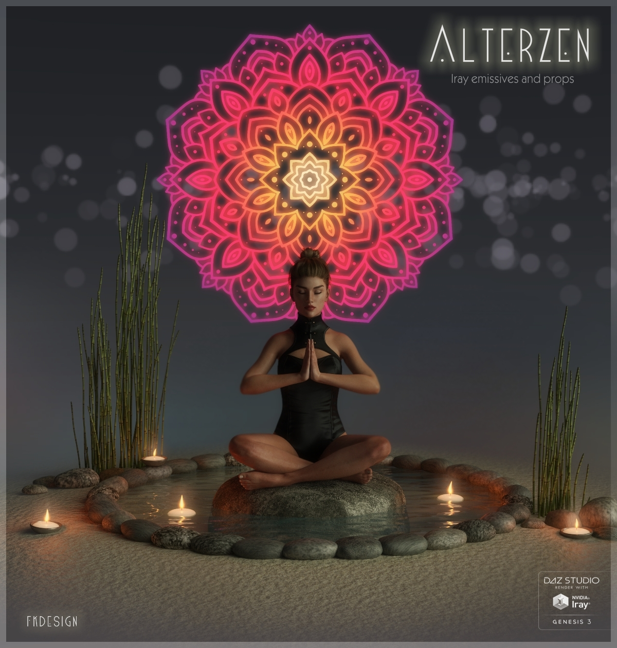 AlterZen - Iray Emissives and Props