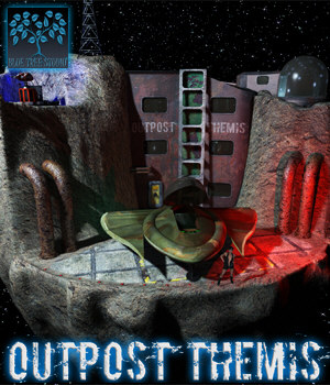 Outpost Themis 3D Models BlueTreeStudio