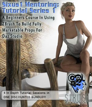 Sixus1 Mentoring: Tutorial Series 01 Tutorials : Learn 3D sixus1