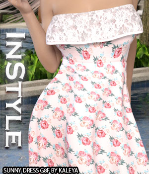 InStyle - Sunny Dress G8F 3D Figure Assets -Valkyrie-