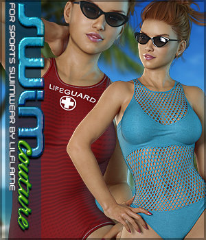 SWIM Couture for Sports Swimwear 3D Figure Assets Sveva