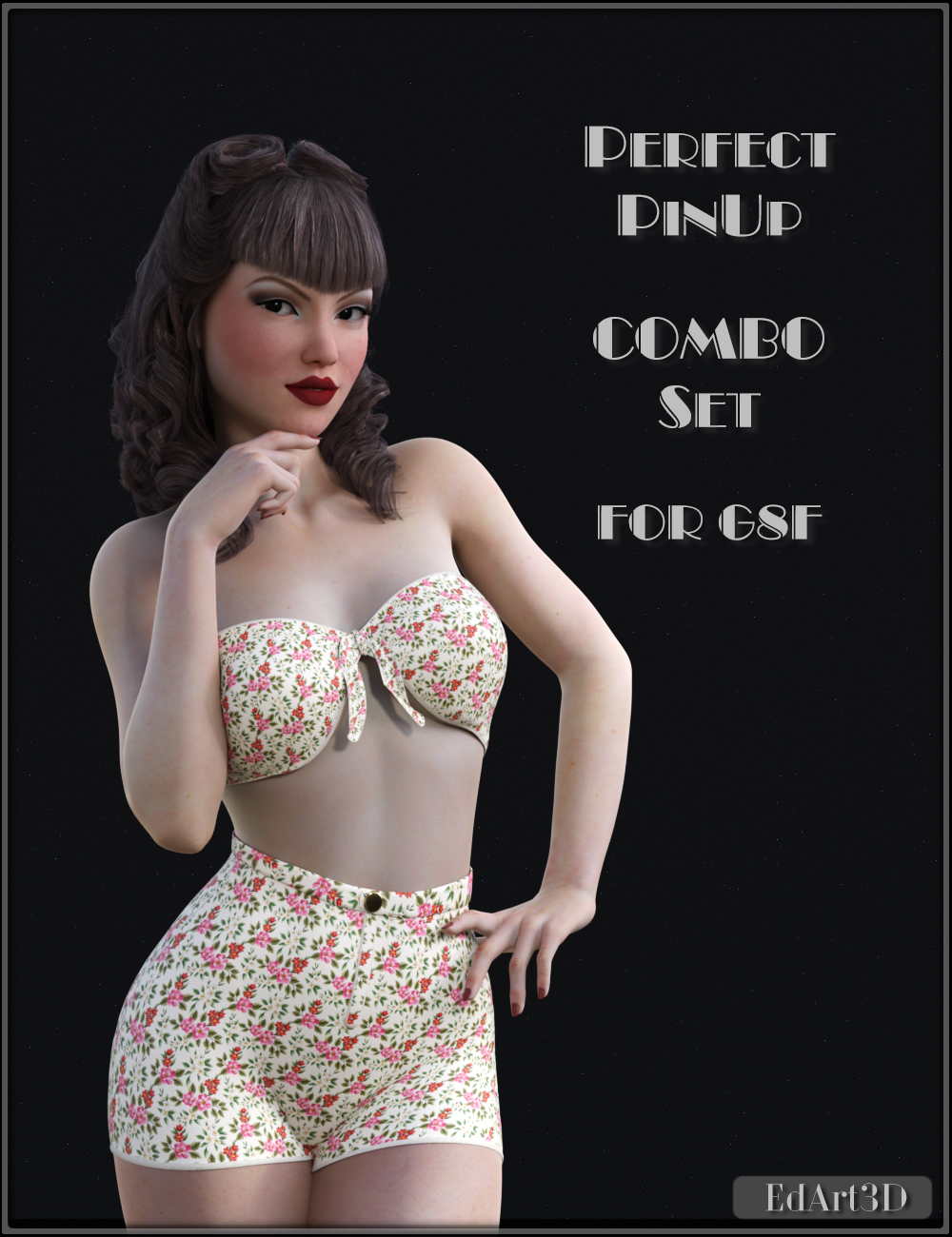 Perfect PinUp Combo Set for G8F by EdArt3D
