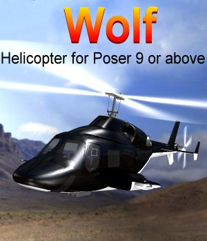 Wolf Poser 3D Models JeffersonAF