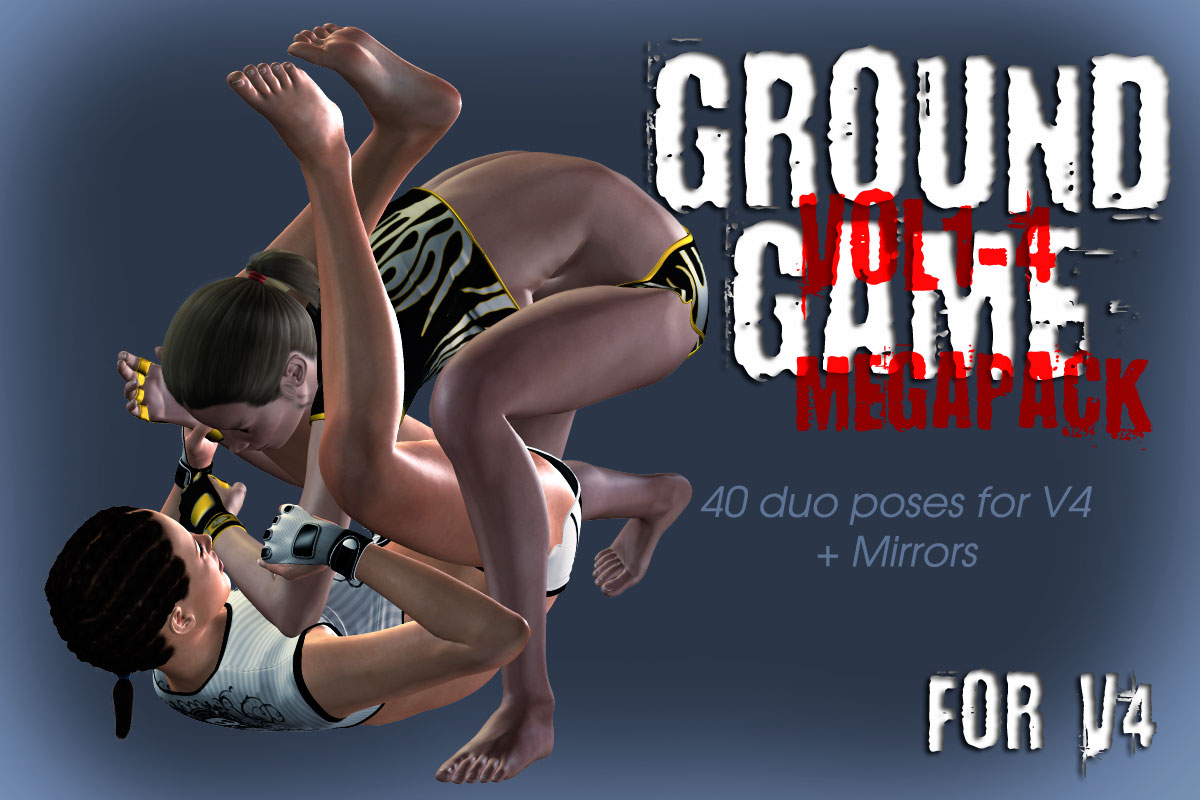 Ground Game vol.1-4 MEGAPACK for V4