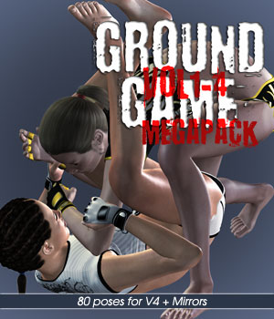 Ground Game vol.1-4 MEGAPACK for V4 3D Figure Assets PainMD
