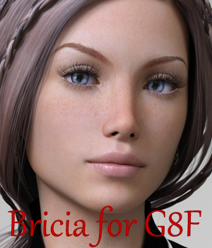 Bricia for G8F 3D Figure Assets Anain