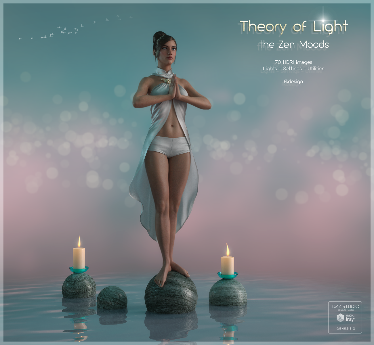 Theory of Light - Zen Moods Iray Lights and HDRIs