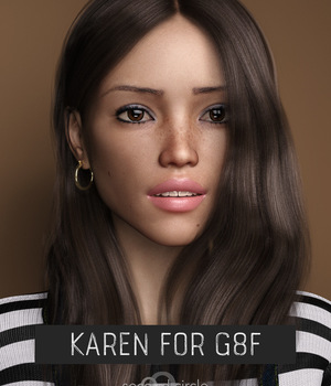 SC Karen for G8F 3D Figure Assets secondcircle