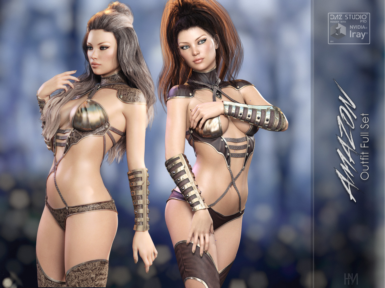 Amazon Outfit for G8F by HomerMoncada