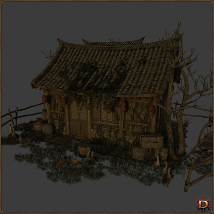 Chinese Old House image 1