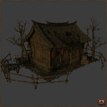 Chinese Old House image 2