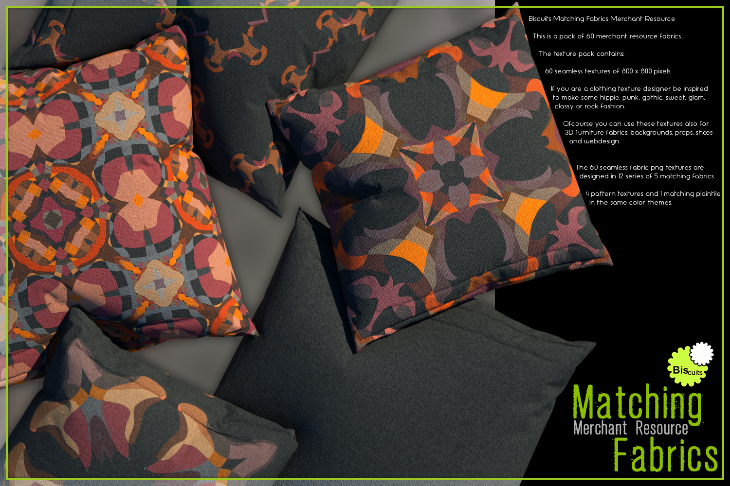 Biscuits Matching Fabrics Merchant Resource