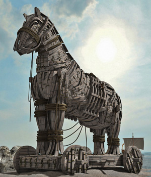 MS12A Trojan Horse 3D Models London224
