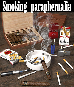 Smoking paraphernalia 3D Models 2nd_World