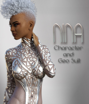 Nina G3F - Character & Geo-Shell Outfit