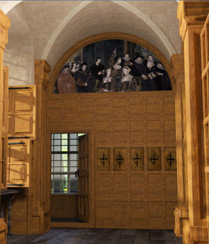 MS17 Tudor Room for DAZ 3D Models London224