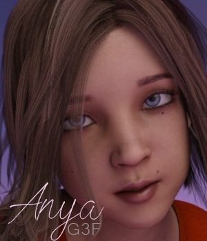Anya for G3F 3D Figure Assets AliveSheCried
