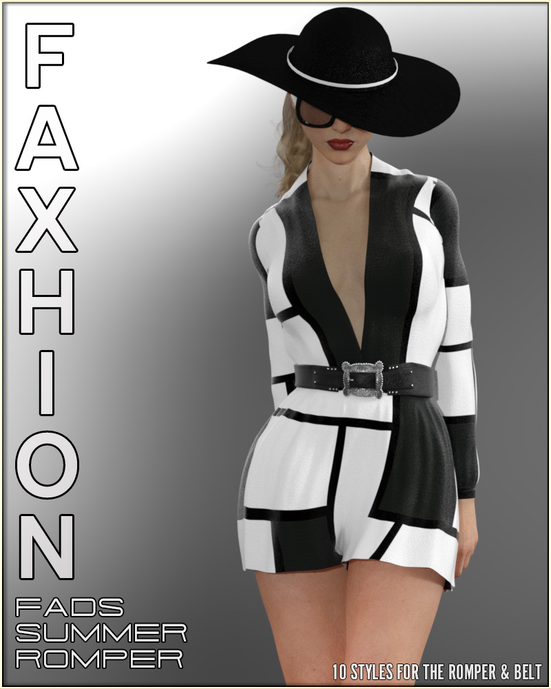 Faxhion - Fads Summer Romper