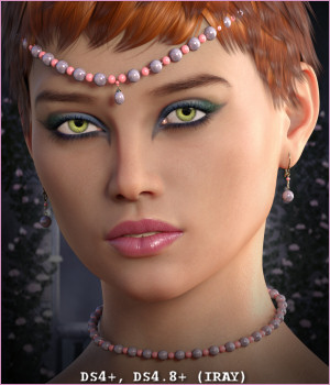 Dazzle for Adorned in Pearls G3F 3D Figure Assets -Wolfie-