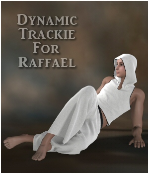 Dynamic Trackie for Raffael  3D Figure Assets Lully