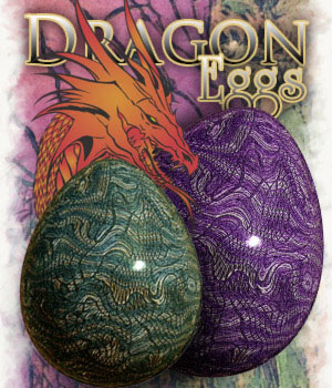 Dragon Eggs 2D Graphics antje