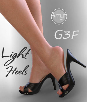Light Heels G3F 3D Figure Assets Onnel