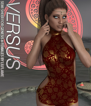 VERSUS - Semi Sheer for Genesis 8 Females 3D Figure Assets Anagord