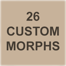Morphing PinUp Glasses for G3F/G8F and Universal Prop image 1