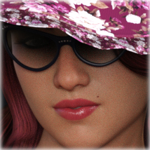 Morphing PinUp Glasses for G3F/G8F and Universal Prop image 4