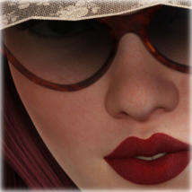 Morphing PinUp Glasses for G3F/G8F and Universal Prop image 7