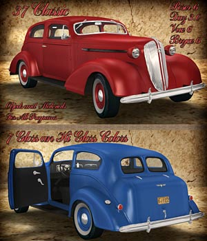37 Classic - Extended License 3D Models Extended Licenses RPublishing