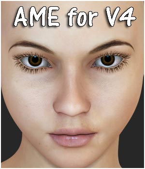 Ame V4 character - Extended License 3D Figure Assets Extended Licenses RPublishing