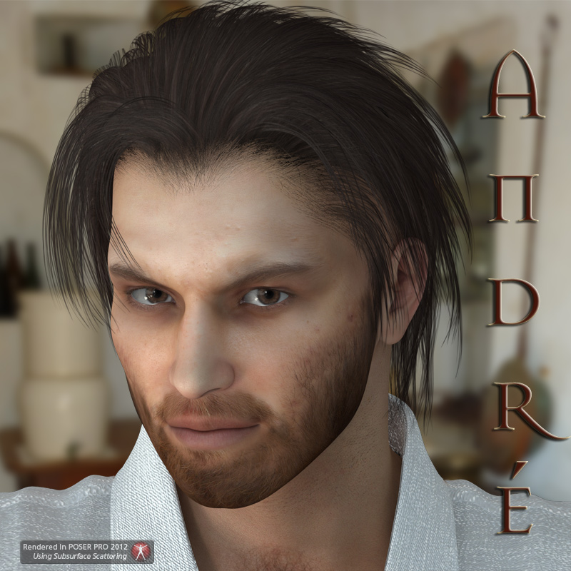 Andre Character for M4 and Genesis - Extended License