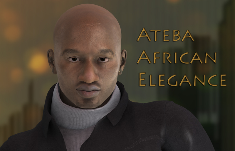 Ateba M4 character - Extended License