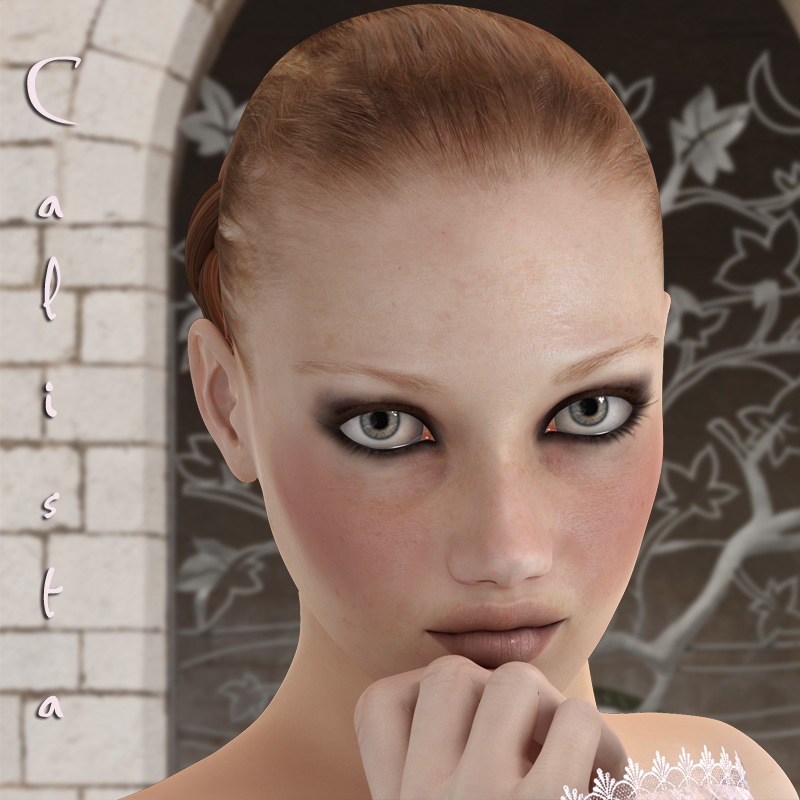 Calista for V4 Character - Extended License