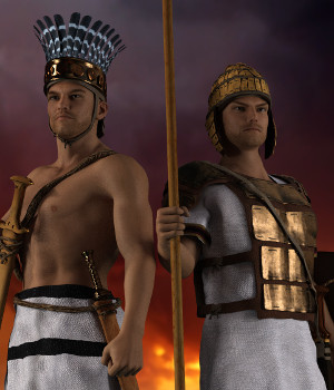 G3M Minoan Era-Mycenaean and the Peoples of the Sea 3D Figure Assets Deacon215