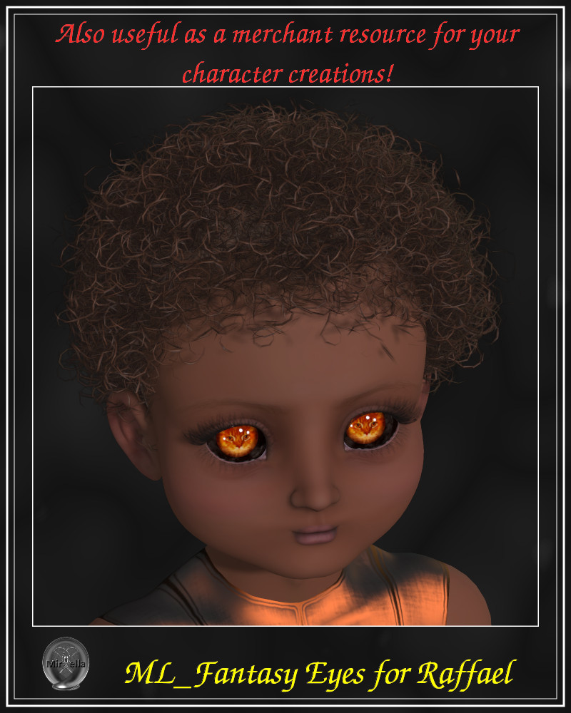 ML Fantasy Eyes for Raffael