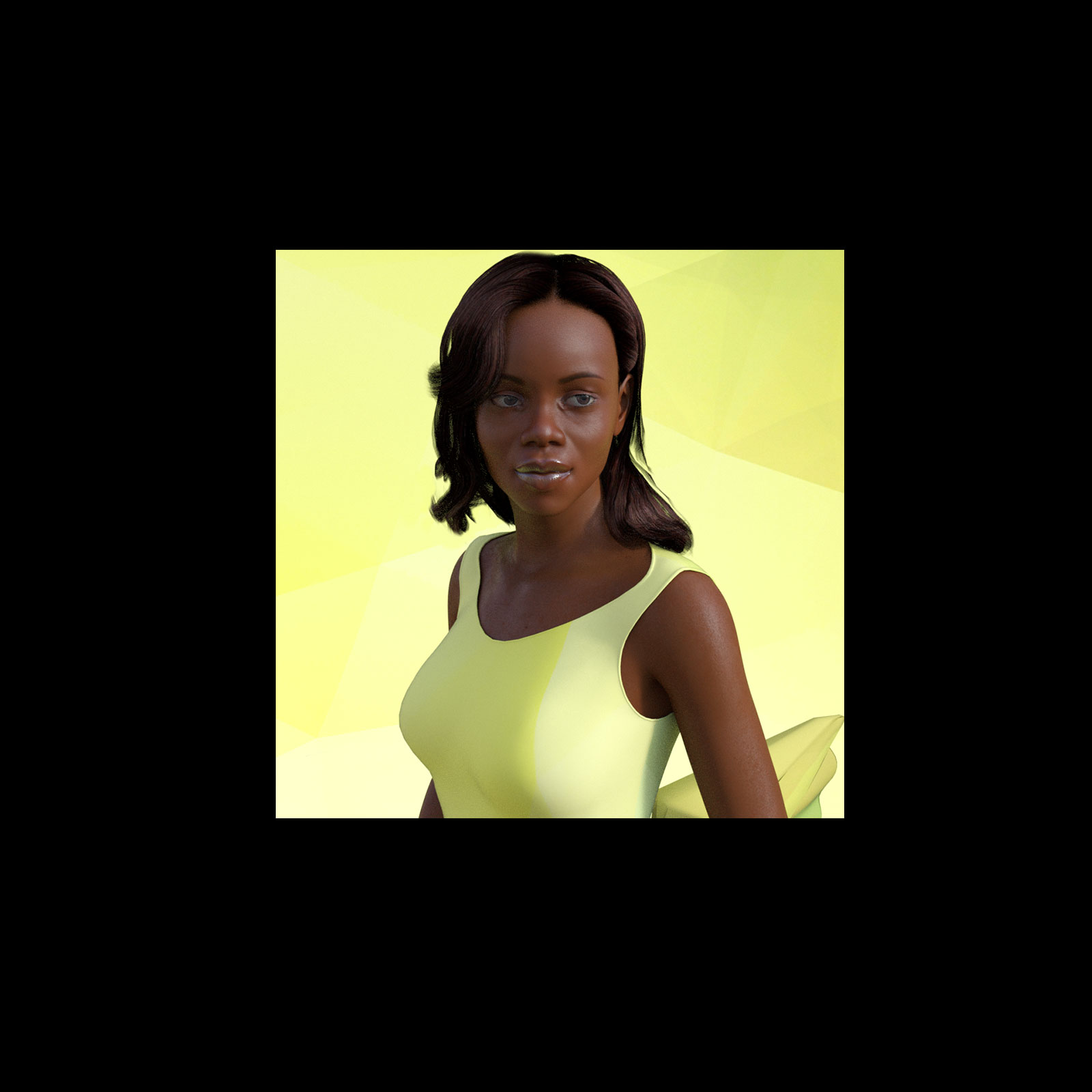 African Female Faces Morphs for Genesis 8 Female 3D Figure
