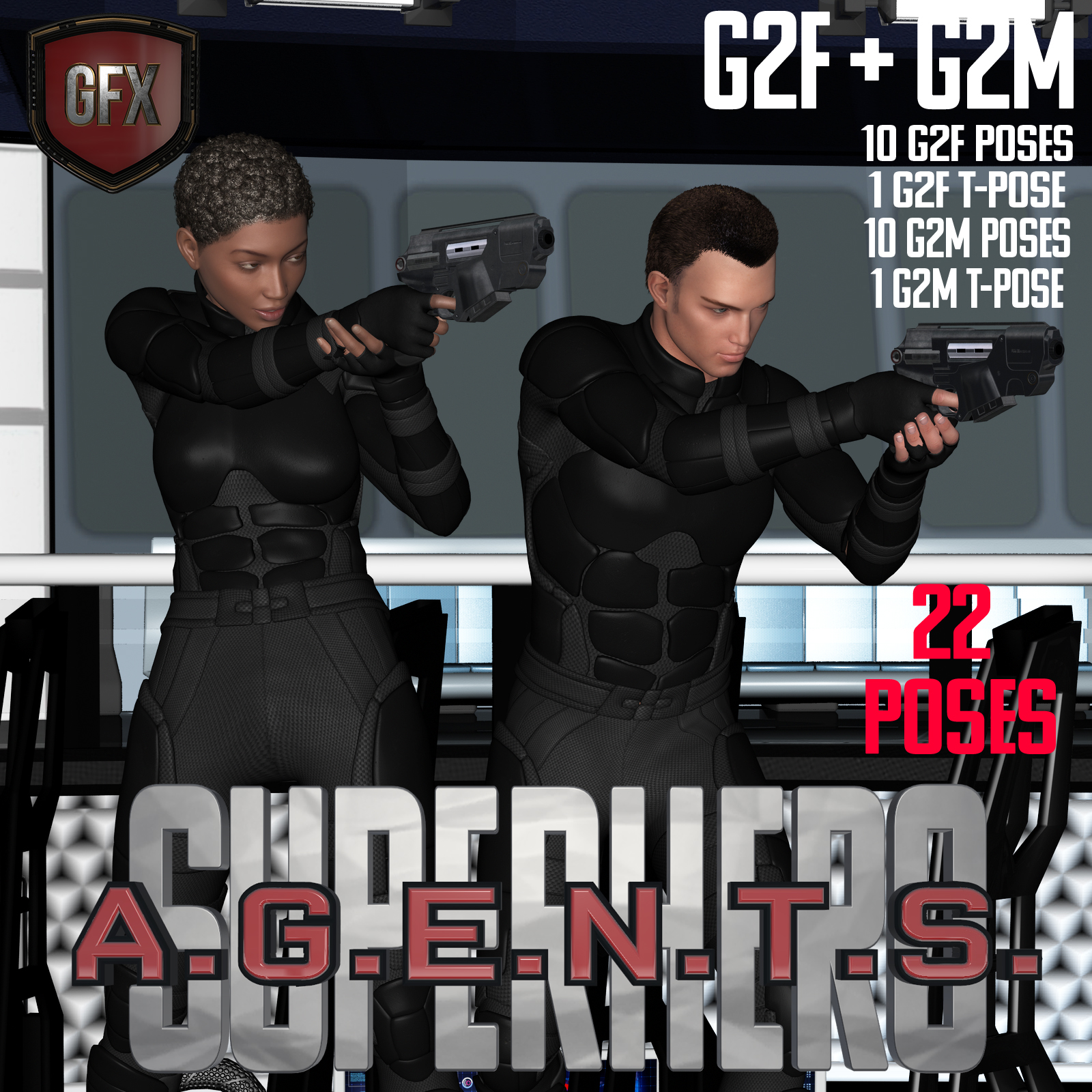 SuperHero Agents for G2F and G2M Volume 1