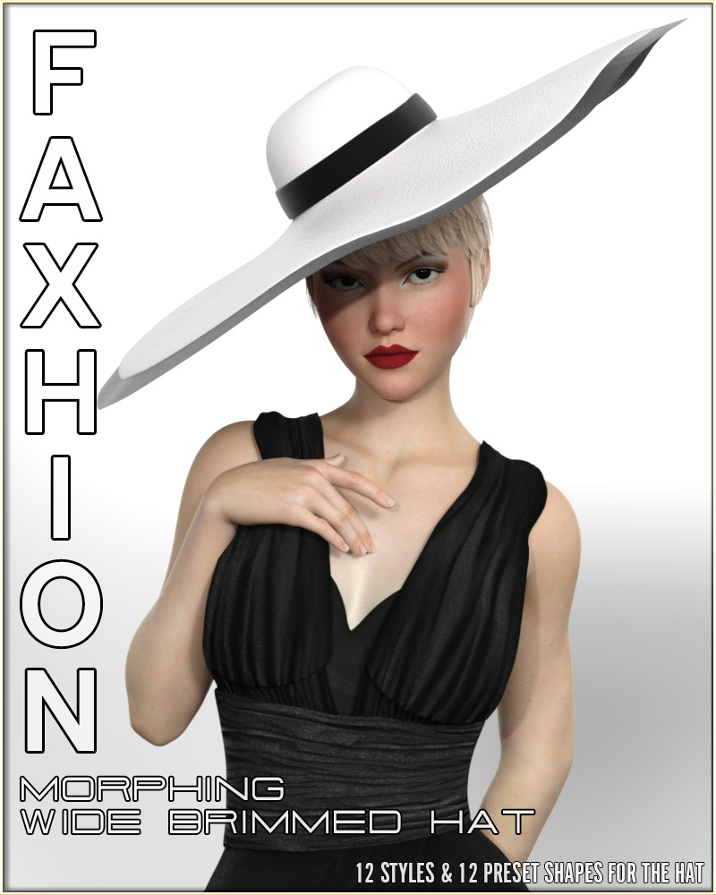 Faxhion - Morphing Wide Brimmed Hat
