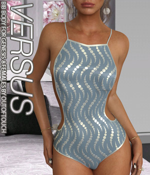 VERSUS - Bib Body for Genesis 8 Females 3D Figure Assets Anagord