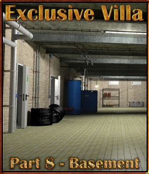 Exclusive Villa 8: Super Basement 3D Models 3-d-c