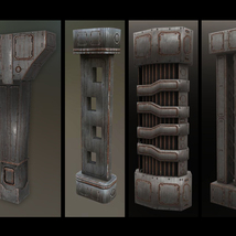 Alien Hive- Modular Collection Volume #1 - Unity 3D Version  - Extended License image 3