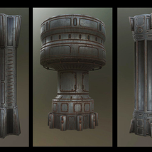 Alien Hive- Modular Collection Volume #1 - Unity 3D Version  - Extended License image 4