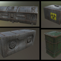 Alien Hive- Modular Collection Volume #1 - Unity 3D Version  - Extended License image 5