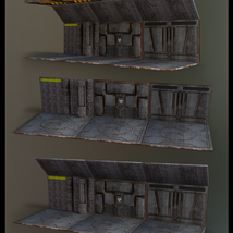 Alien Hive- Modular Collection Volume #1 - Unity 3D Version  - Extended License image 12