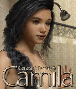 Camila For Genesis 8 Female 3D Figure Assets KobaAlexander